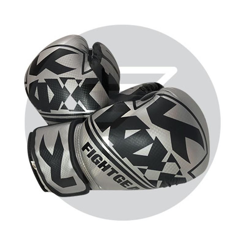 Boxing Gloves G60 Silver & Black