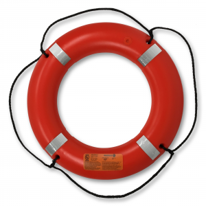"Ring Buoy 30"" Hard Shell USCG/Solas"