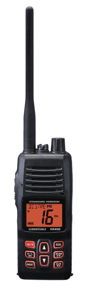 HX400 Hand Held VHF Marine Radio