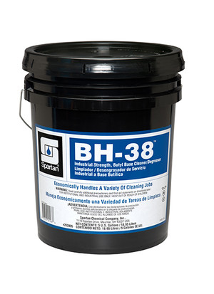 BH-38 Spartan Chemical Degreaser - 5 Gallon