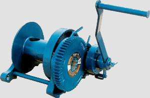Spur Gear Hand Winch