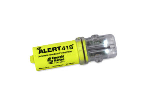 ALERT418® Man-Overboard Transmitter with Spray Tight Pouch