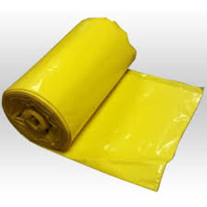 Yellow Hazmat Bags 50 per Roll