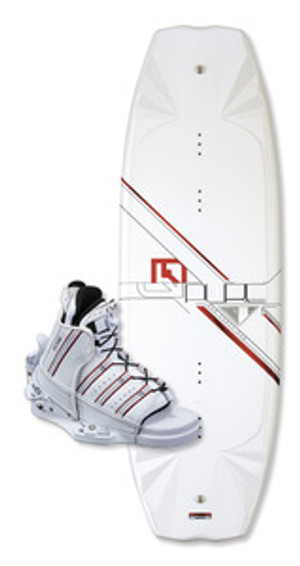 Pure CWB Wakeboard with Edge Bindings