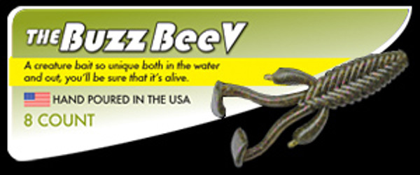 Buzz BeeV 4 inch Fishing Lure