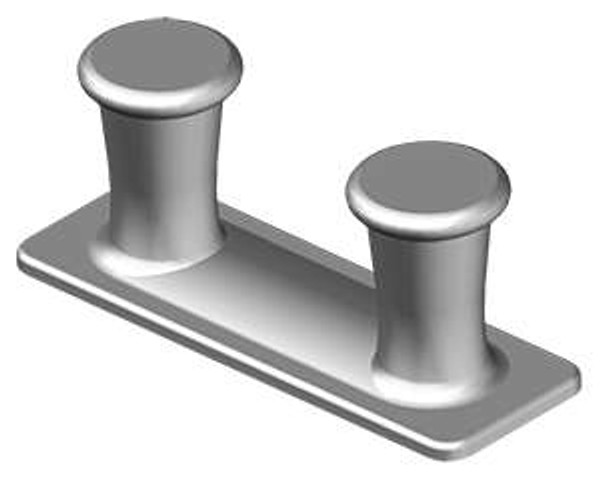 """Bitt - 8"""" Double Cast Steel"""