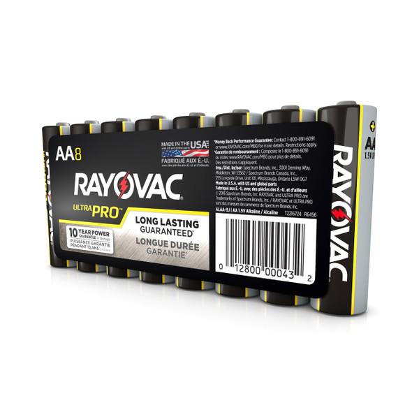 AA Alkaline Batteries - 8 pack