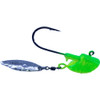 The CYCLONE jig will drive fish crazy, the FLASH and the Sparkle with only make the fish go crazier for your bait. These are in 3/8 oz they work great for  PIKE,WALLEYE,GREENBACKS,MUSKY,LAKE TROUT. These are poured on e super strong Eagle Claw hook in Black nickle for EVEN more FLASH.
