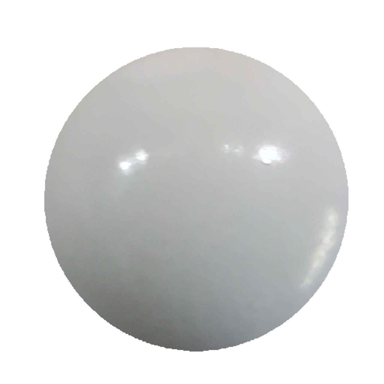 This Product is WHITE is the Sunlight BUT Glows BLUE in the dark.     Use a White Under coat to make it glow best, and use a clear coat to get the BEST high gloss finish
