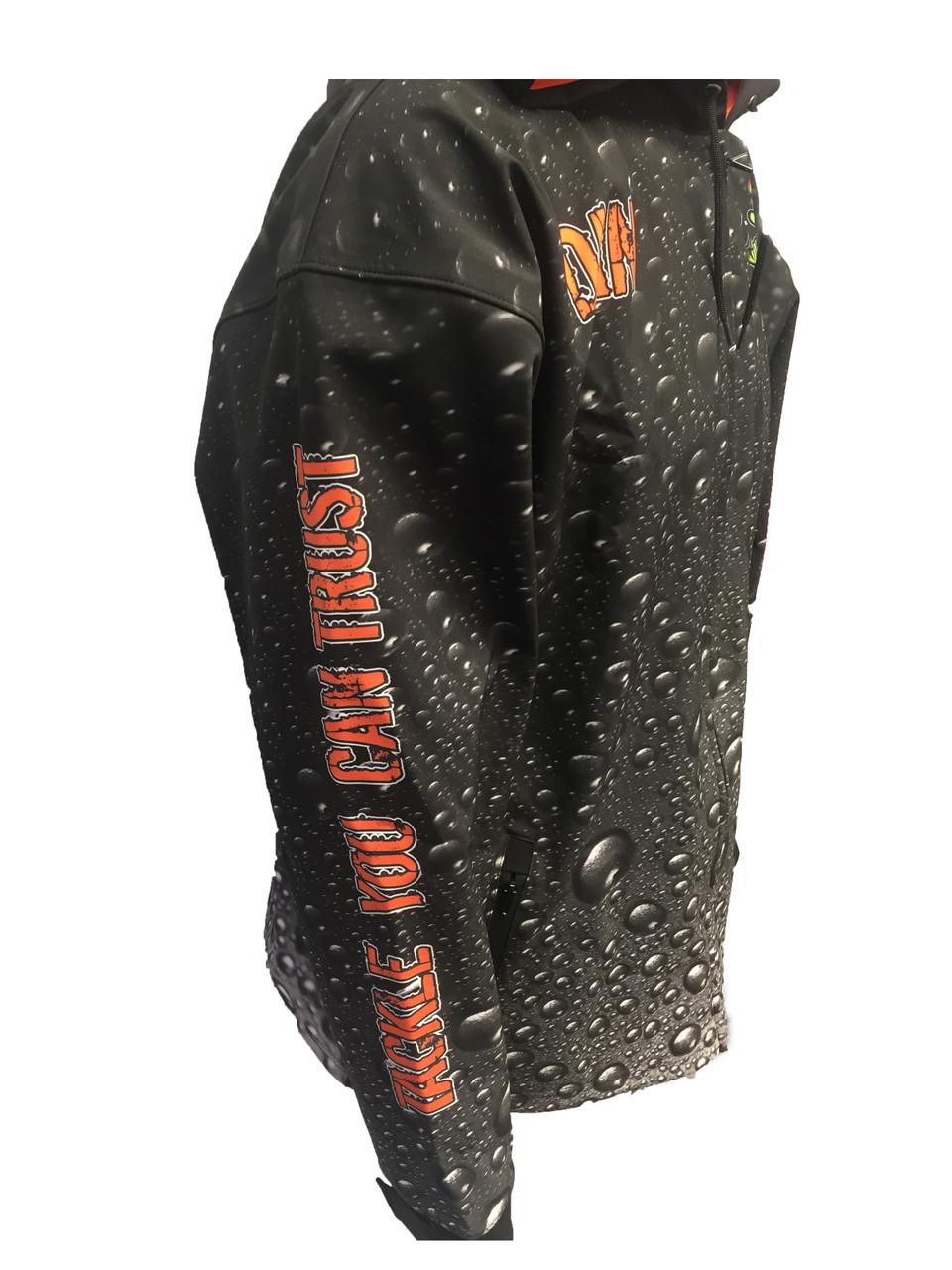 Rain Coat   Windproof and waterproof outer membrane Fleece-backed inner layer for warmth Add waterproof zipper & seam sealing for full weatherproofing A versatile outerwear piece