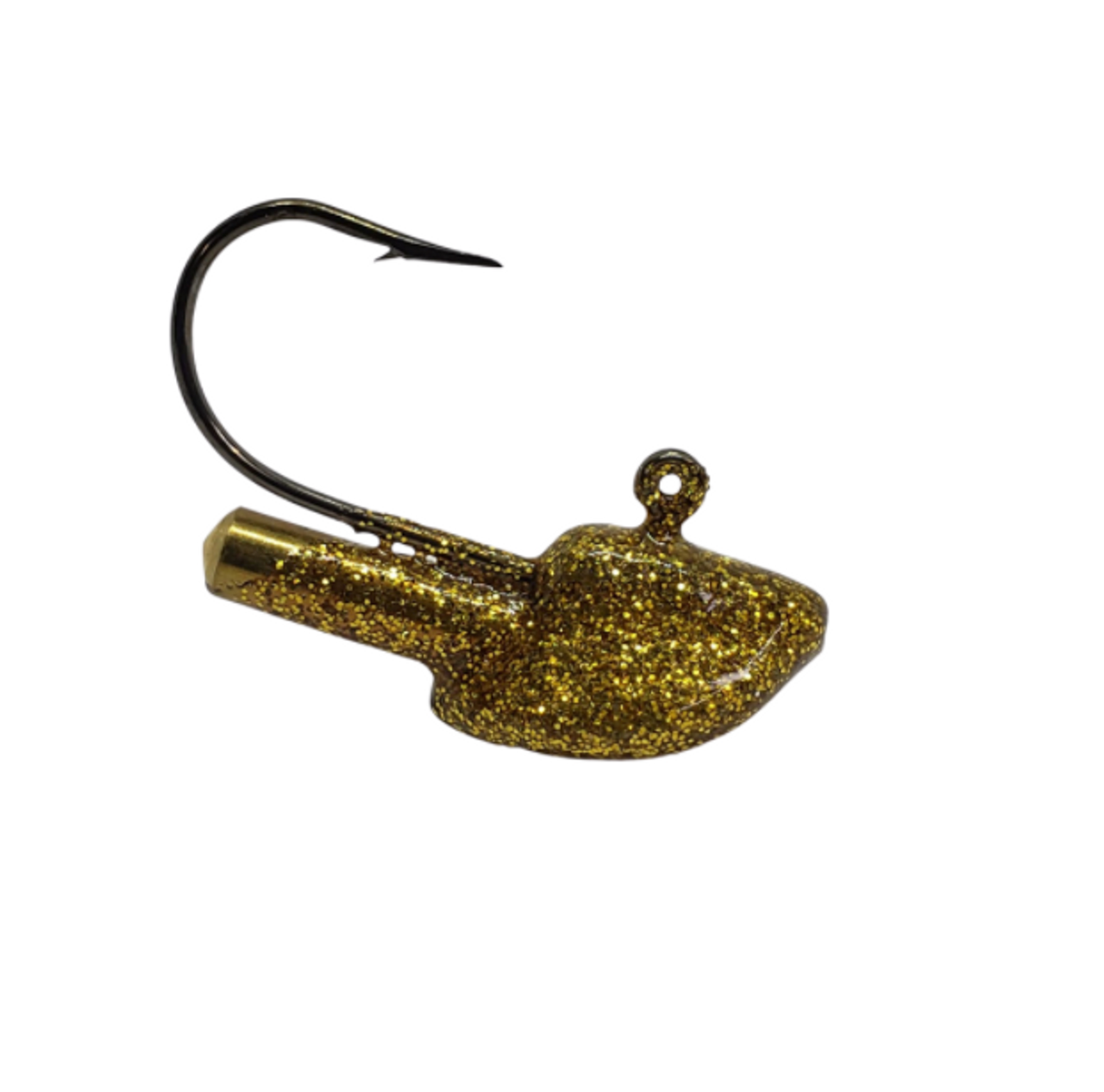 Erie Stand Up 1/4oz Rattle These short shank erie stand ups are the perfect combination for those finicky walleye who are light biting. The small presentation paired with a minnow or leech assists with those bites when walleye are just sucking it in. Short shank jigs are also a favourite for using with live minnows. Plus the design of the Erie Jig keeps your bait standing up off the bottom, giving the presentation of a minnow feeding. The added bonus of the short shank with no collar also means quicker hook set. Plus, we have included an incorporated brass rattle for adding sound and vibration as extra attractant.