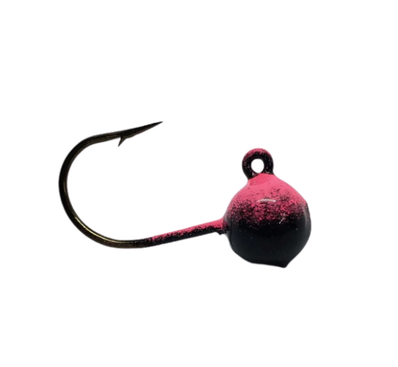 Short Shank 1/8 Ball Jigs These short shank ball jigs are the perfect combination for those finicky walleye who are light biting. The small presentation paired with a minnow or leech assists with those bites when walleye are just sucking it in. Short shank jigs are also a favourite for using with live minnows. The added bonus of the short shank also means quicker hook set.