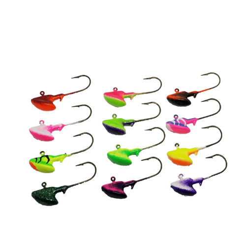 SET OF ERIE STAND UP JIGS