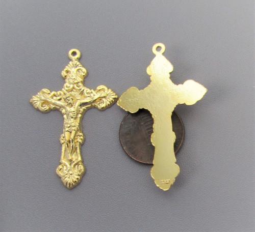 Filigree Crucifix Medium GOLD - Lot 3
