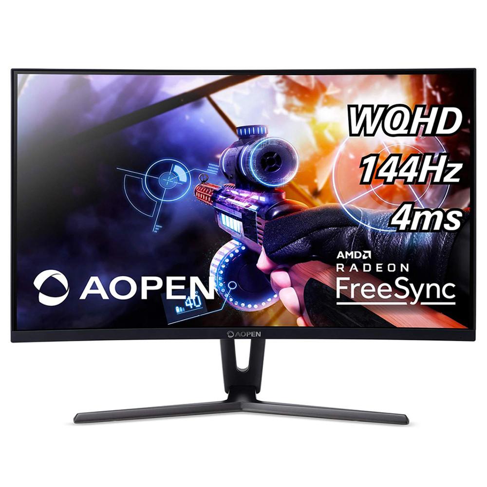 "AOPEN 32H - 31.5"" Widescreen LCD Monitor WQHD 2560x1440 4ms 144 Hz Vertical Alignment (VA) | 32HC1QUR Pbidpx"