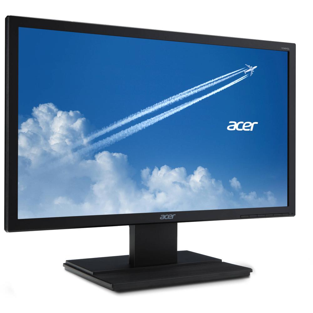 """Acer V6 23.6"""" LCD Monitor FullHD 1920x1080 60Hz 16:9 VA 5ms 250Nit VGA   V246HQL Bmdp"""