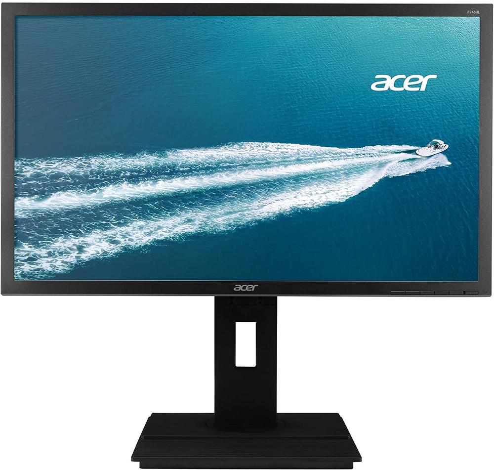 "Acer B6 24"" LCD Monitor FullHD 1920x1200 60Hz 16:10 IPS 5ms GTG 300Nit VGA | B246WL ymdprzx | Scratch & Dent"