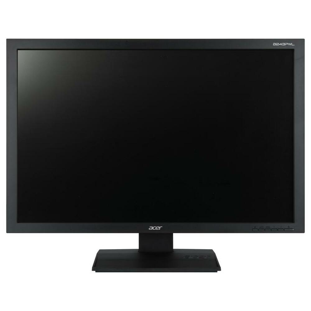 "Acer B243PWL 24"" Widescreen LCD Monitor Display WUXGA 1920 x 1200 14 ms 16:10"