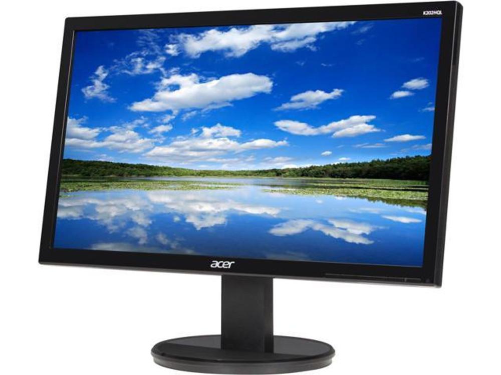 "Acer 19.5"" Widescreen LCD Monitor Display HD+ 1600 X 900 5 ms TN Film | K202HQL | Scratch & Dent"