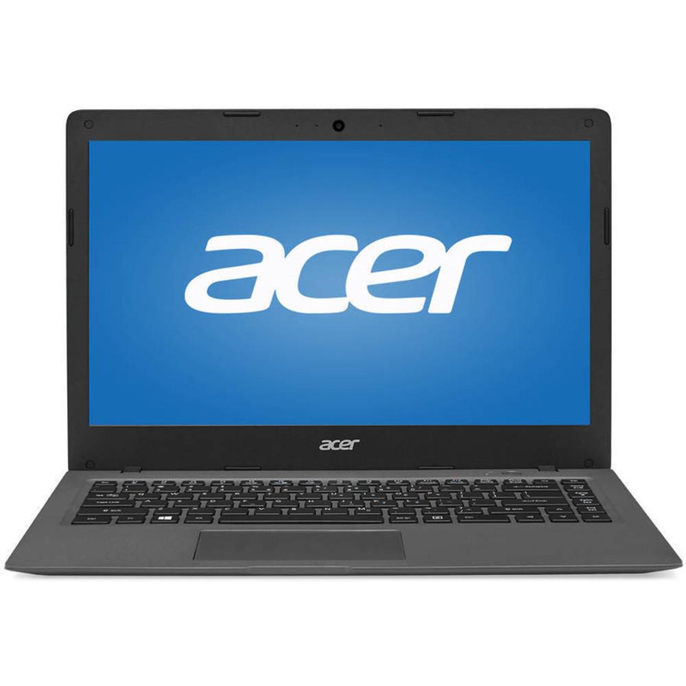 "Acer Aspire One Cloudbook - 14"" Laptop Intel Celeron 1.6 GHz 2 GB Ram 32 GB Flash Windows 10 Home | AO1-431-C8G8 | Scratch & Dent"