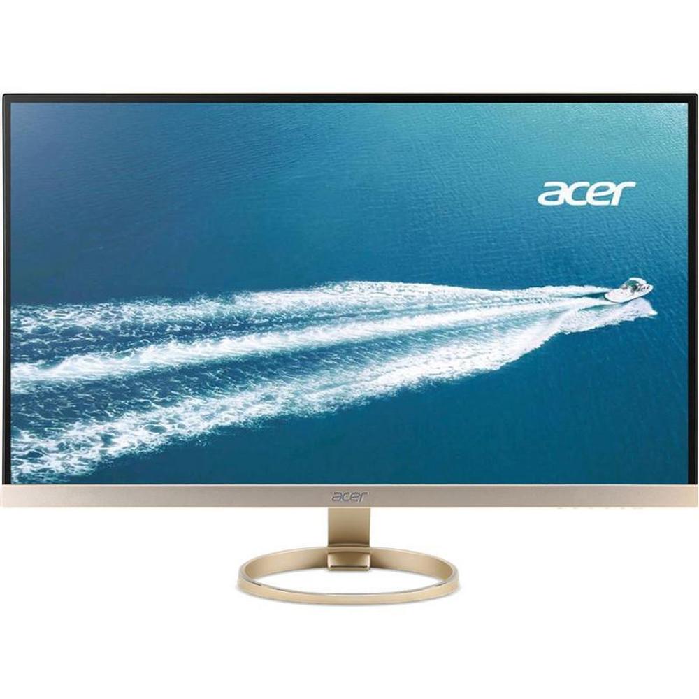 "Acer 27"" Widescreen LCD Monitor Display WQHD 2560 x 1440 4 ms IPS   H277HU kmipuz   Scratch & Dent"