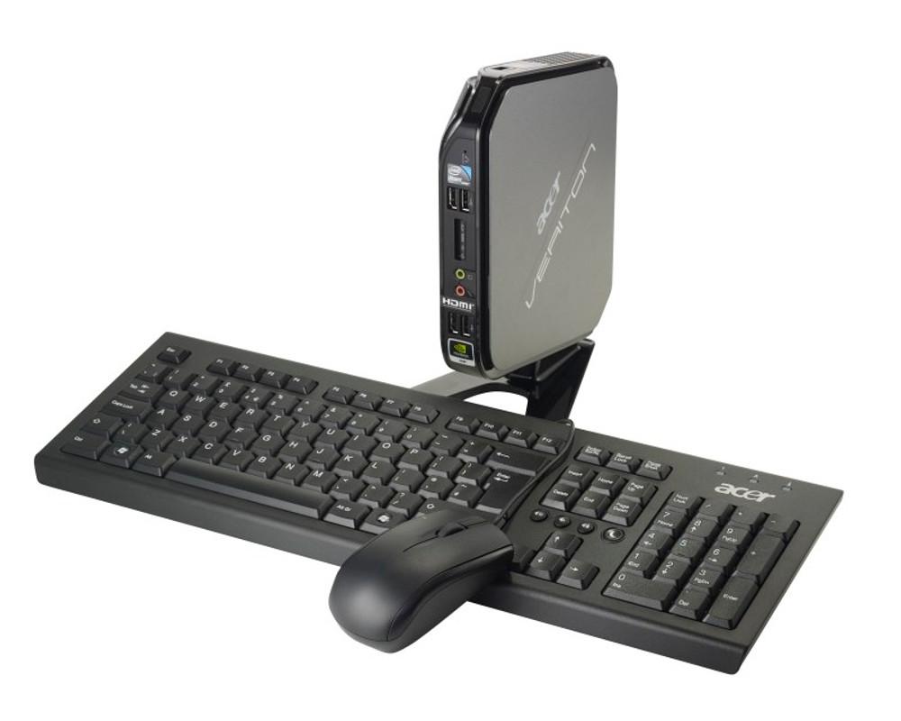 Acer Intel Atom 1.8 GHz 2 GB Ram 500GB HDD Windows 7 Professional   VN282G-UD5253W