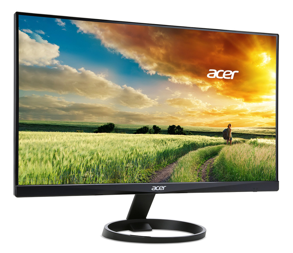 "Acer R0 - 24"" Widescreen LCD Monitor Display Full HD 1920 x 1080 4 ms IPS 