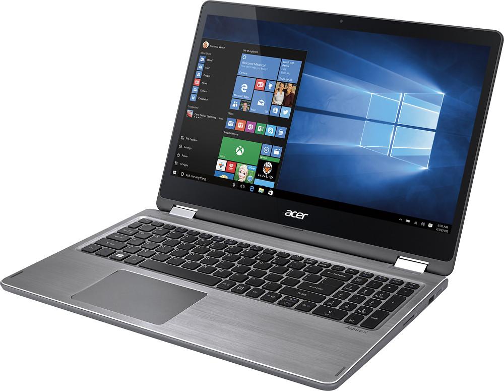"Acer Aspire R 15 - 15.6"" Laptop Intel Core i5 2.50 GHz 8 GB Ram 1 TB HDD Windows 10 Home   R5-571T-57Z0"