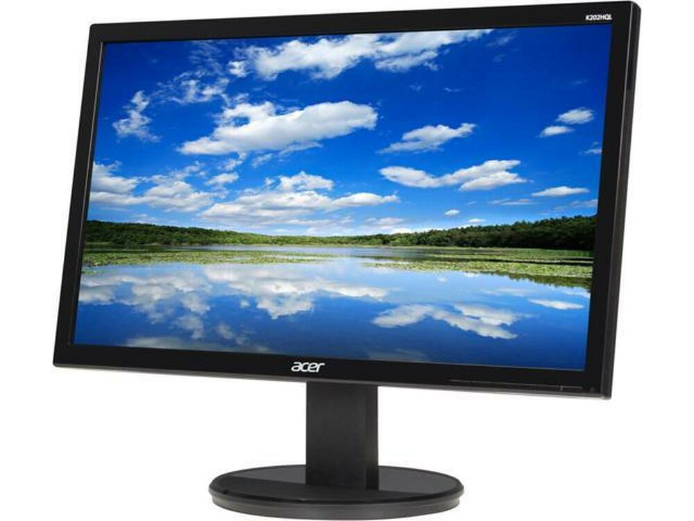 "Acer K2 - 19.5"" Widescreen LCD Monitor Display HD+ 1600 X 900 5 ms TN Film   K202HQL"