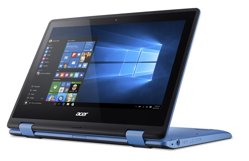 "Acer Aspire R 11 - 11.6"" Laptop Intel Celeron 1.6 GHz 2 GB Ram 32 GB SSD Windows 10 Home 