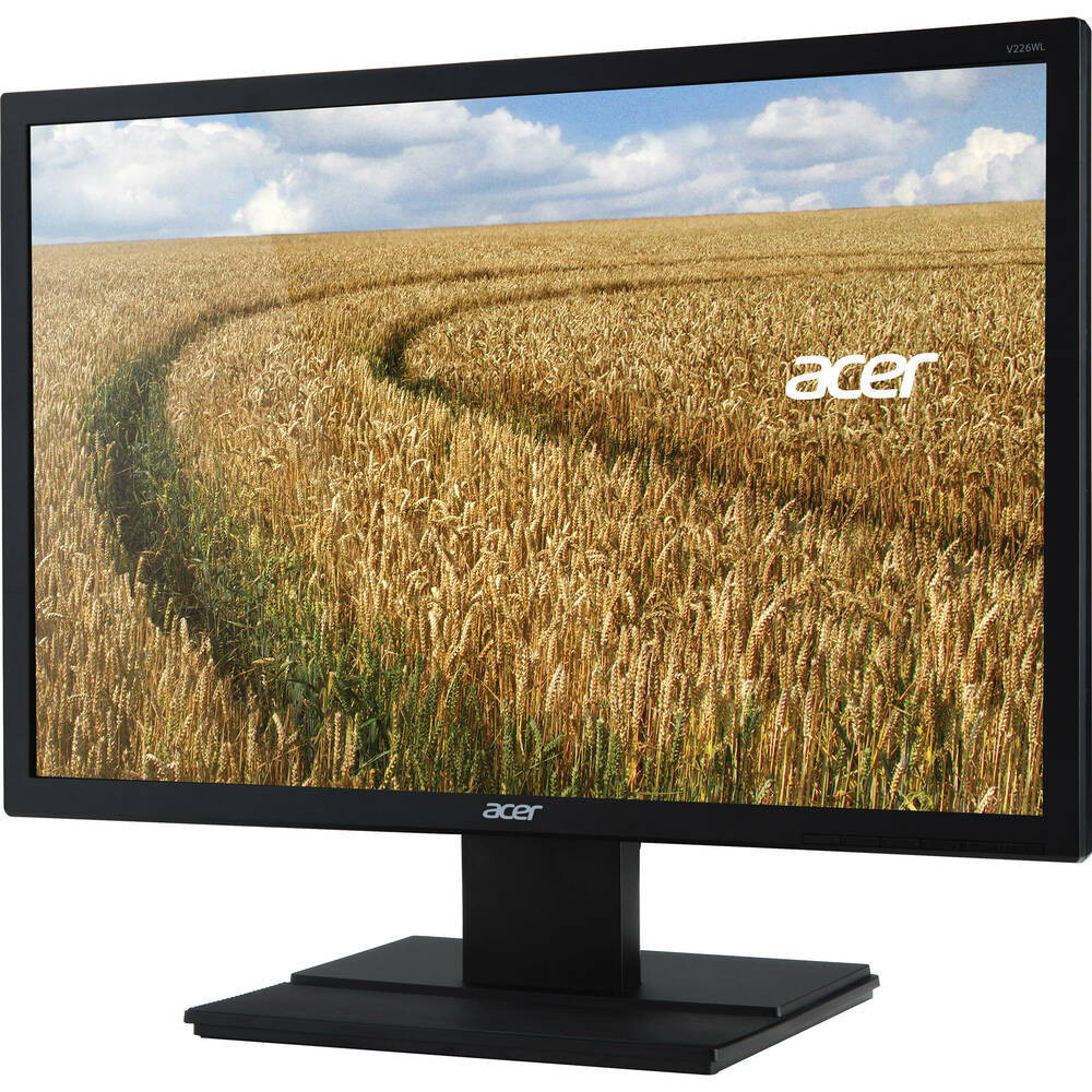 "Acer 22"" LCD Widescreen Monitor Display WXGA+ 1680 x 1050 5 ms 250 Nit | V226WL"