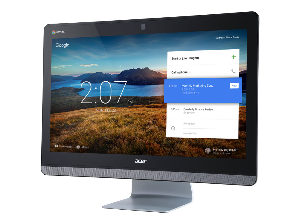 "Acer Chromebase 24 -  23.8"" Intel Celeron Dual-Core 1.7 GHz 4GB Ram 16GB Flash Chrome OS 