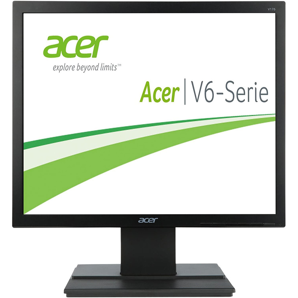 "Acer V6 - 17"" Widescreen LCD Monitor Display SXGA Screen 1280 x 1024 5 ms 75 Hz Black | V176L bd"