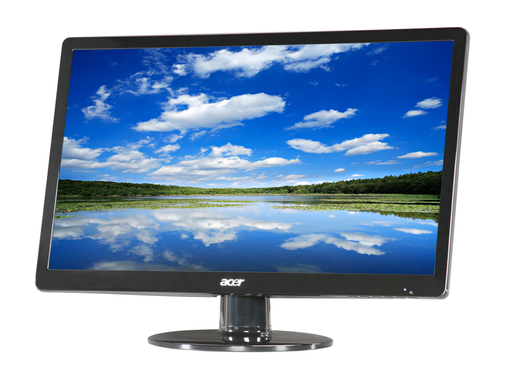 """Acer 21.5"""" Widescreen LCD Monitor Display Full HD 1920 X 1080 5 ms 60 Hz   S220HQL   Scratch & Dent"""
