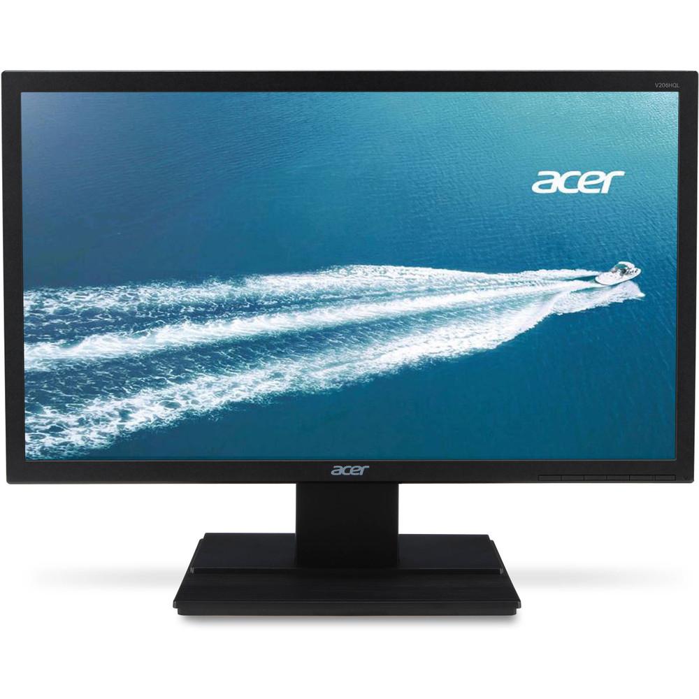 "Acer 19.5"" Widescreen LCD Monitor Display Full HD 1920 x 1080 8 ms | V206HQL Cbmp"