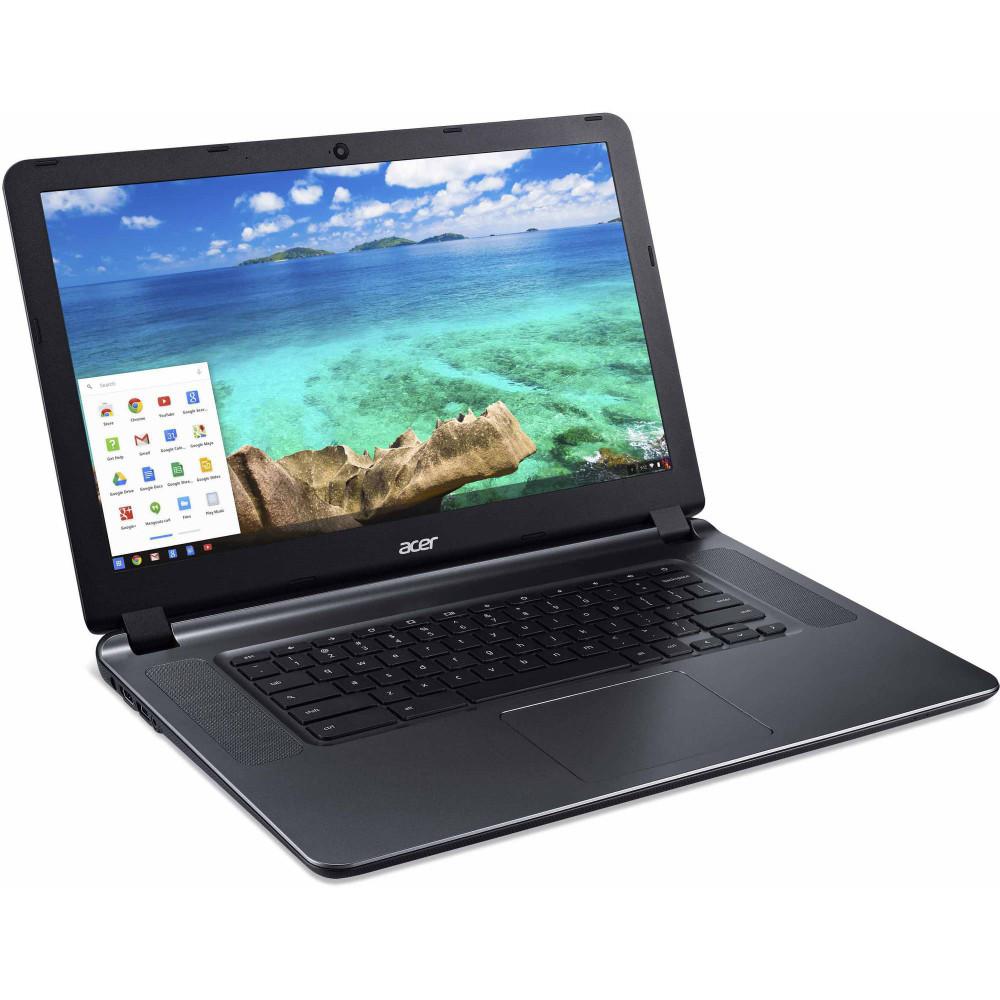 """Acer Chromebook 15 - 15.6"""" Chromebook Intel Celeron 1.60 GHz 4 GB Ram 16 GB Flash Chrome OS   CB3-532-C42P"""