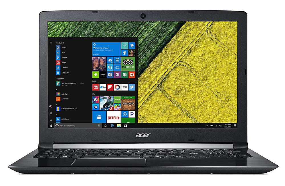 "Acer Aspire 5 - 15.6"" Laptop Intel Core i7 7500U 8 GB Ram 1 TB HDD Windows 10   A515-51-75UY"