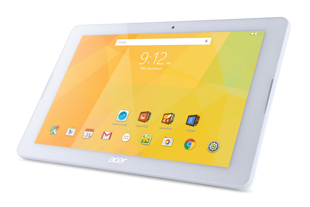 "Acer Iconia One 10 - 10.1"" Tablet MediaTek Cortex A53 1.30 GHz 1 GB Ram 32 GB Flash Android 