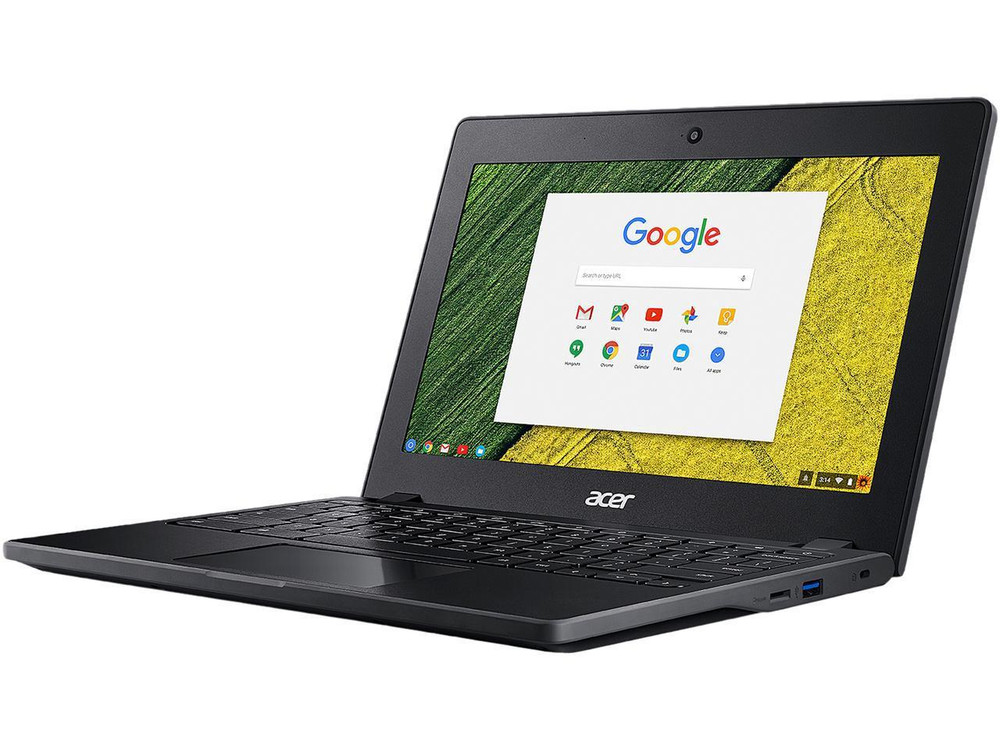 "Acer Chromebook 11 - 11.6"" Chromebook Intel Core Celeron 1.60 GHz 4 GB Ram 32 GB Flash Chrome OS 