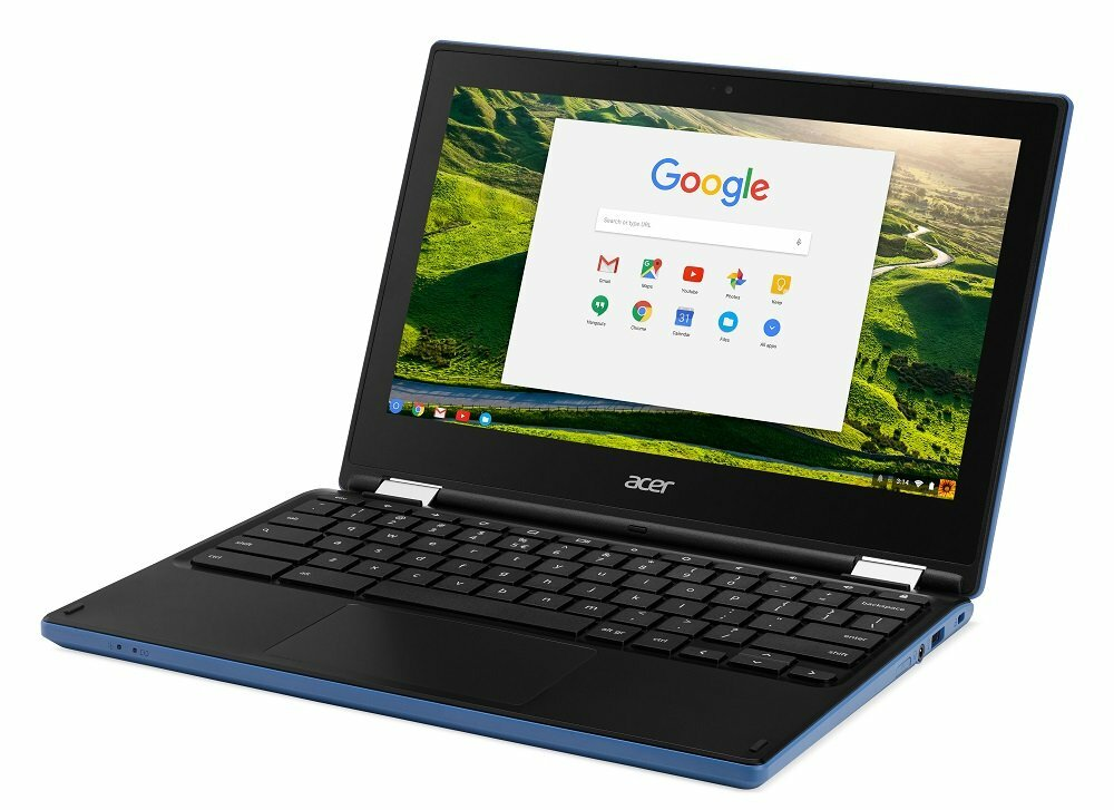 "Acer Chromebook R 11 - 11.6"" Chromebook Intel Celeron 1.60 GHz 4 GB Ram 32 GB Flash Chrome OS | Scratch & Dent"