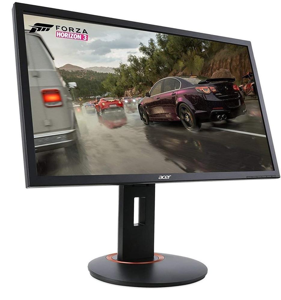 "Acer XF - 24"" LCD Monitor Full HD 16:9 Widescreen 1ms Display 1920x1080   XFA240 bmjdpr   Scratch & Dent"