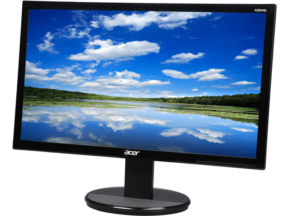 "Acer K2 - 19.5"" Widescreen Monitor 16:9 5ms 60hz HD (1366 x 768) 