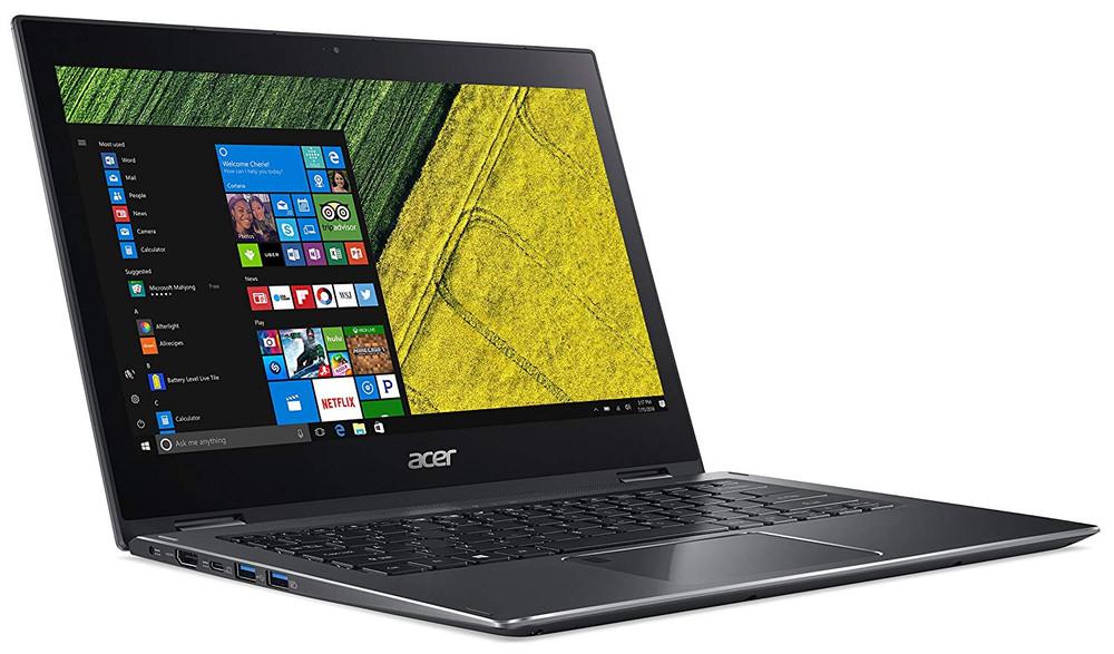 "Acer Spin 5 - 13.3"" Laptop Intel Core i5-8250U 1.60GHz 8GB Ram 256GB SSD Windows 10 Pro   SP513-52N-52VV"