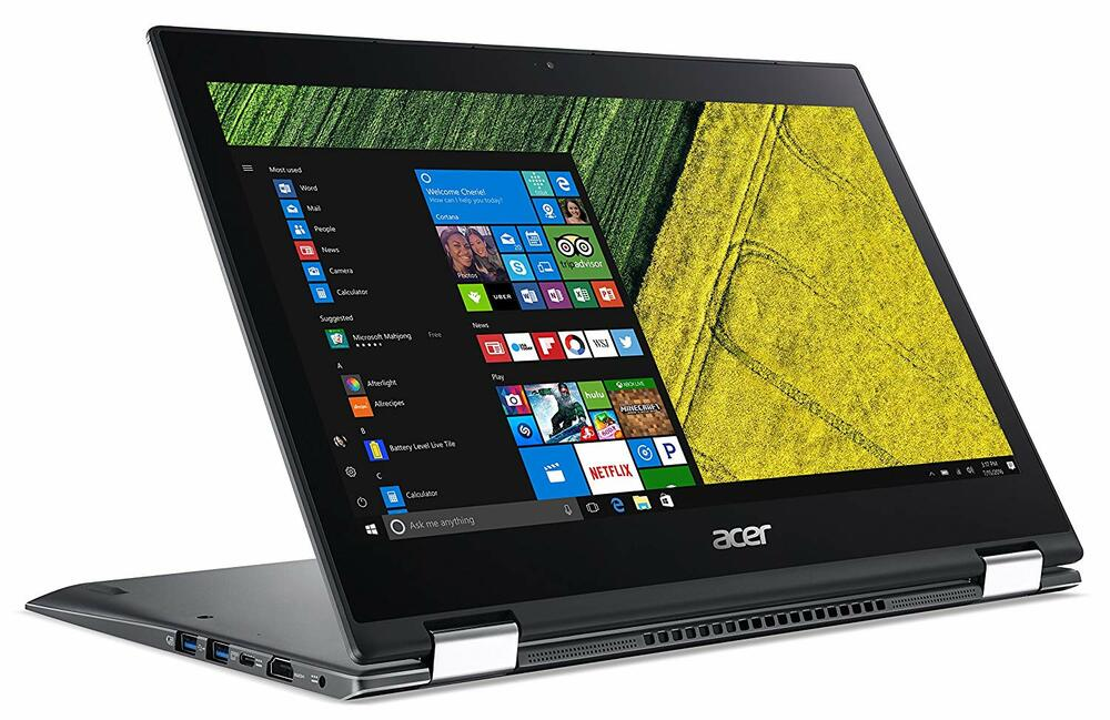 "Acer Spin 5 - 13.3"" Laptop Intel Core i5-8250U 1.60GHz 8GB Ram 256GB SSD Windows 10 Pro 