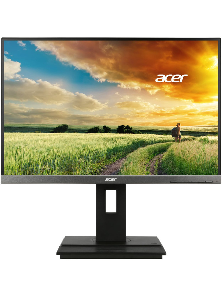 "Acer B6 - 24"" Widescreen LCD Computer Monitor WUXGA (1920 x 1200) 60 Hz 5 ms GTG 16:10 Aspect Ratio B246WL Aymidprz"