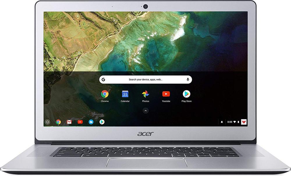 "Acer Chromebook 15 - 15.6"" Intel Celeron N3350 1.1GHz 4GB Ram 32GB Flash Chrome OS   CB515-1HT-C2AE"