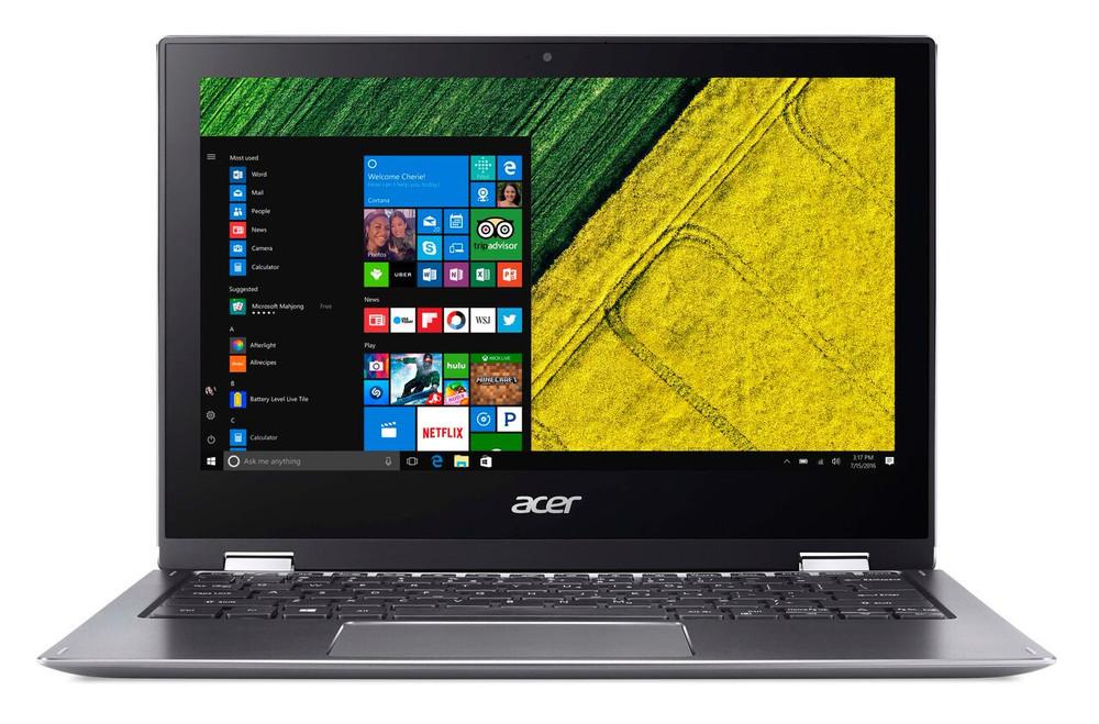 "Acer Spin 1 - 11.6"" Laptop Intel Pentium- 1.1GHz 4GB Ram 64GB Flash Windows 10 S | SP111-32N-P6CV"