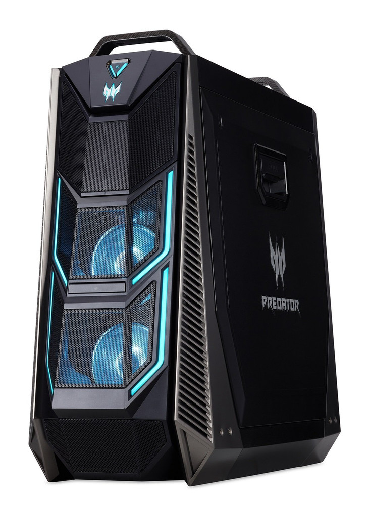 Acer Predator Orion 9000 PC Core i7-8700K 3.7GHz 32GB Ram 2TB HDD 512GB SSD W10H | PO9-600-I7KFCF1080TI