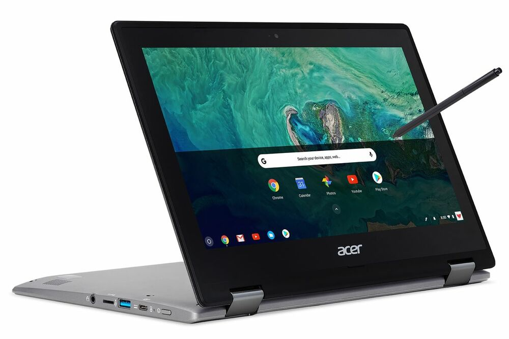 Acer Chromebook Spin 11 Intel Celeron N3350 1.10GHz 4GB Ram 32GB Flash Chrome OS | CP311-1HN-C2DV | Scratch & Dent