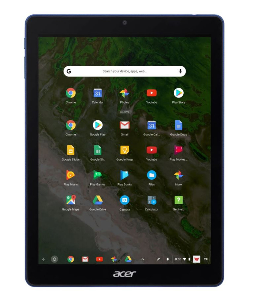 "Acer Chromebook Tab 10 - 9.7"" Tablet ARM Cortex A53 4GB Ram 32GB Flash Chrome OS 